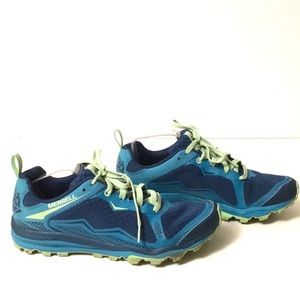 Merrell Shoes - Merrell bright green athletic wear pre-owned sz 9
